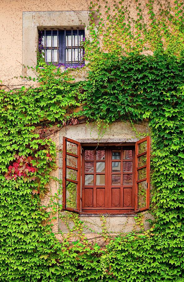 Windows In Comillas Photograph by Elena Pueyo