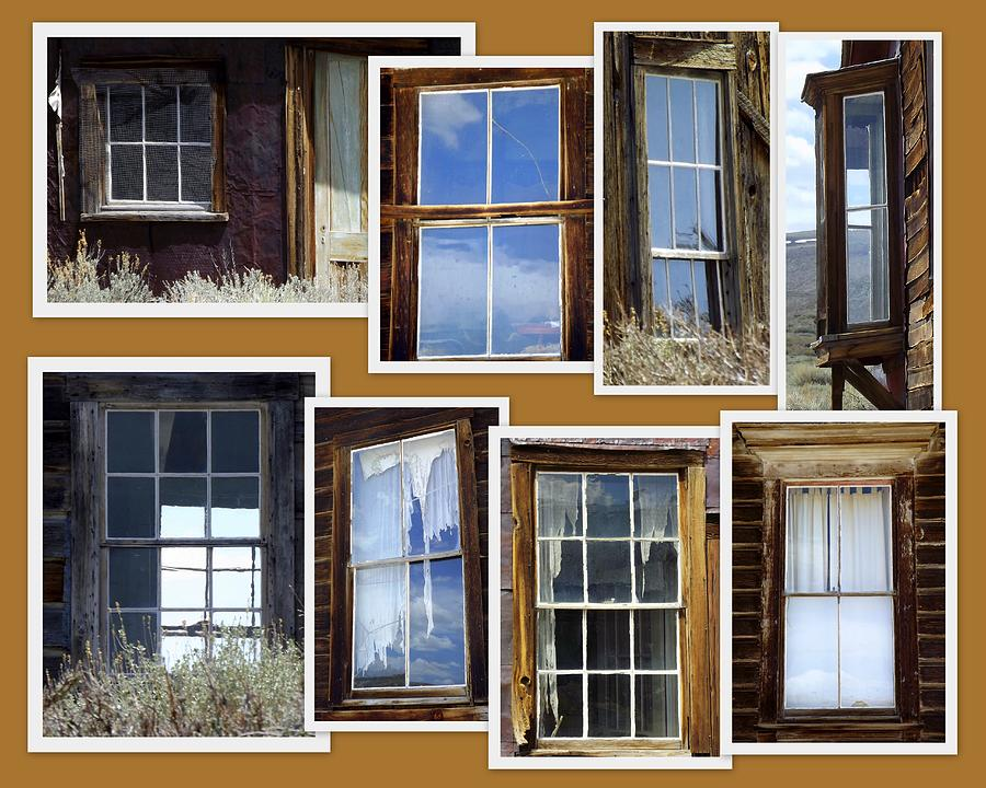 Windows Into The Past Collage
