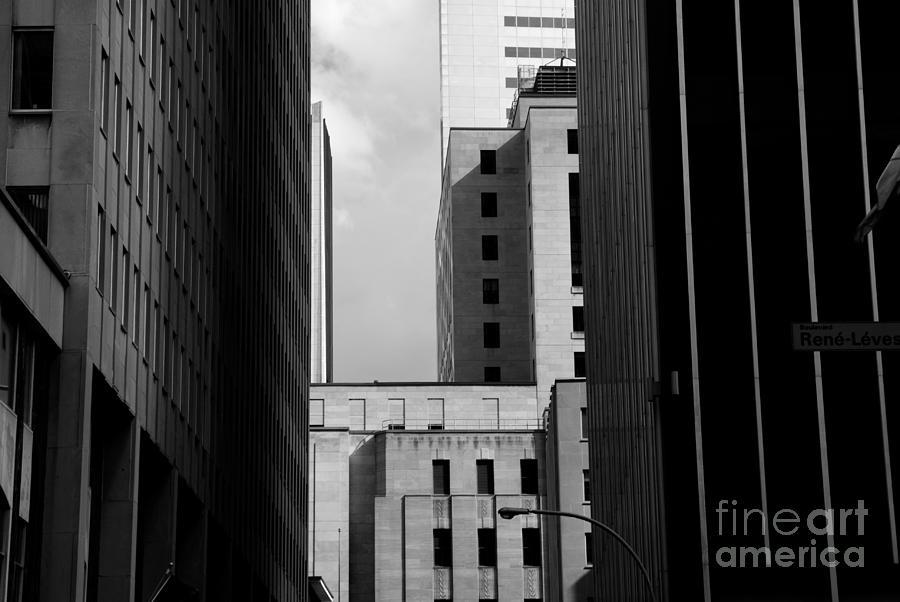 Color Photograph - Windows, Montreal, Quebec, Canada by Maxi kore