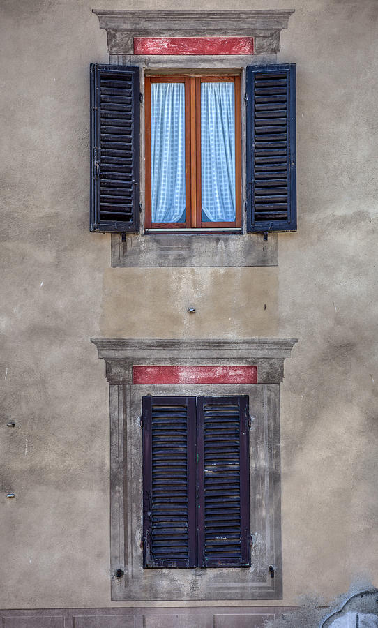 Windows of Montalcino by David Letts