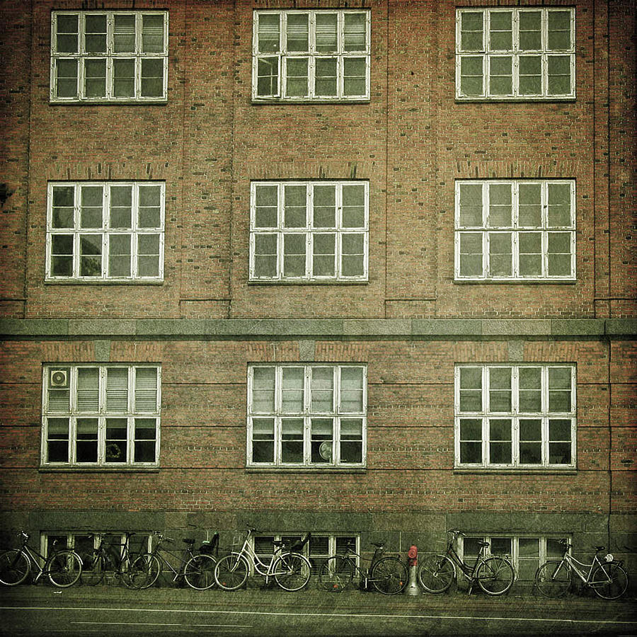 Windows Of Residential Building Photograph by ***