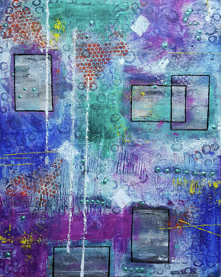 Windows or Frames by Diana Hrabosky