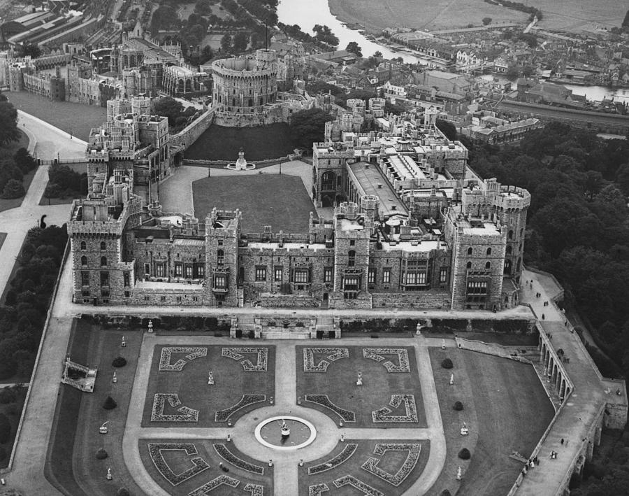 Windsor Castle Photograph by Central Press