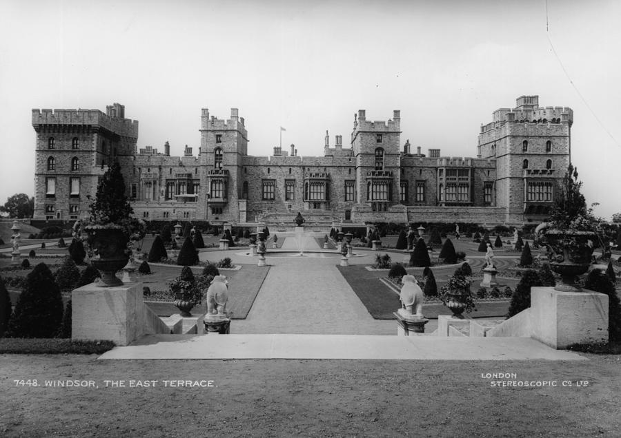 Windsor Castle Photograph by London Stereoscopic Company