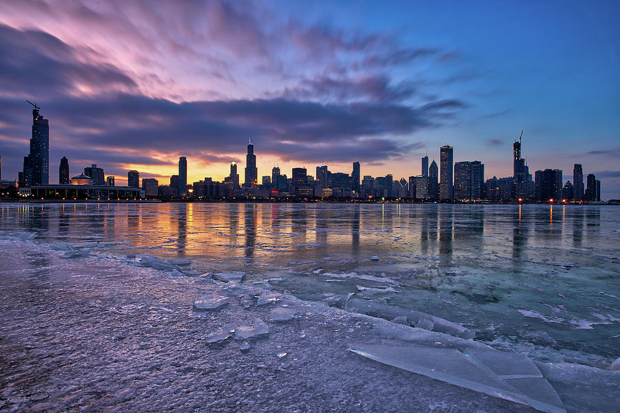 Windy City Winter by Raf Winterpacht