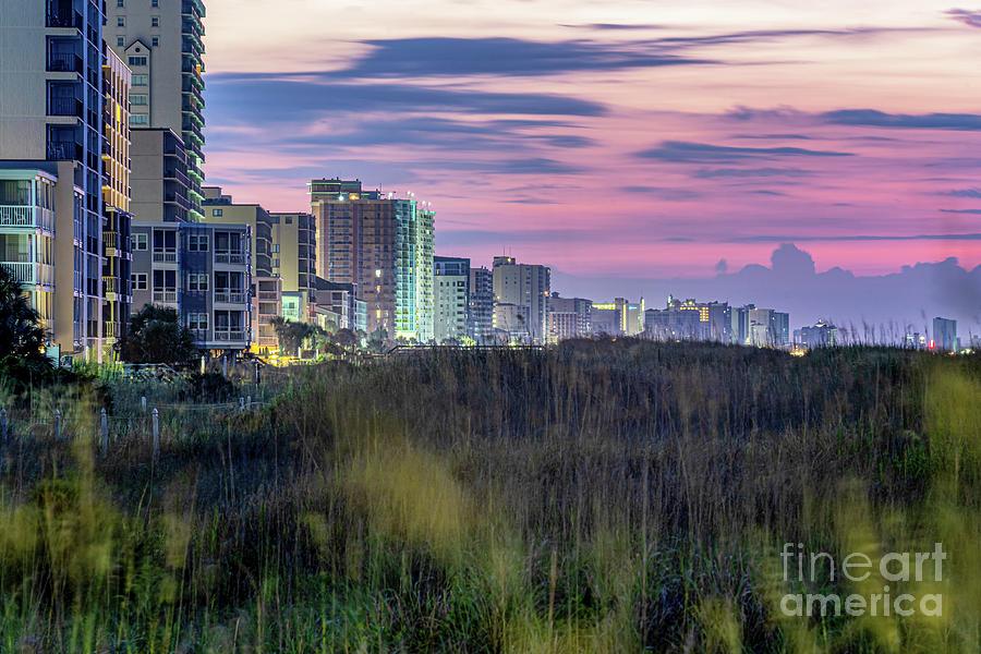 Windy Hill Beach Sunrise by David Smith