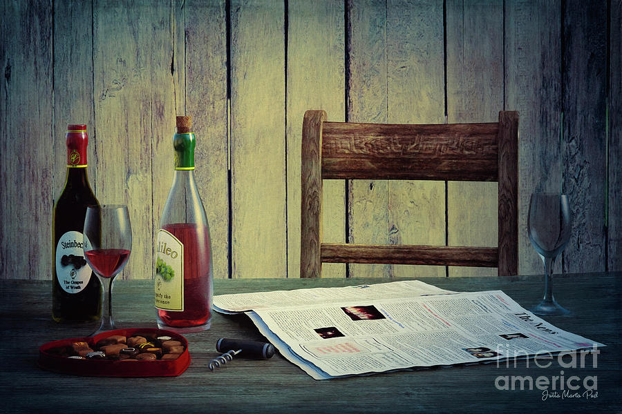 Wine and Sweets by Jutta Maria Pusl