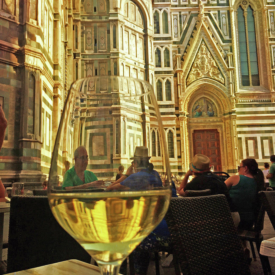 Wine at the Duomo by Matthew Pace