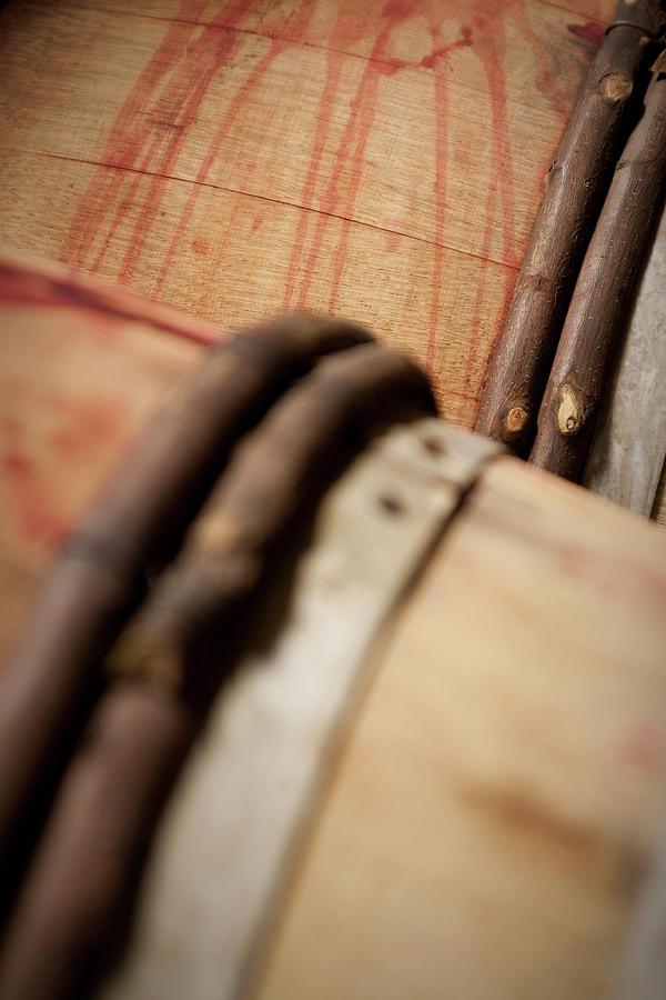 Wine Barrels Photograph by Chrispecoraro