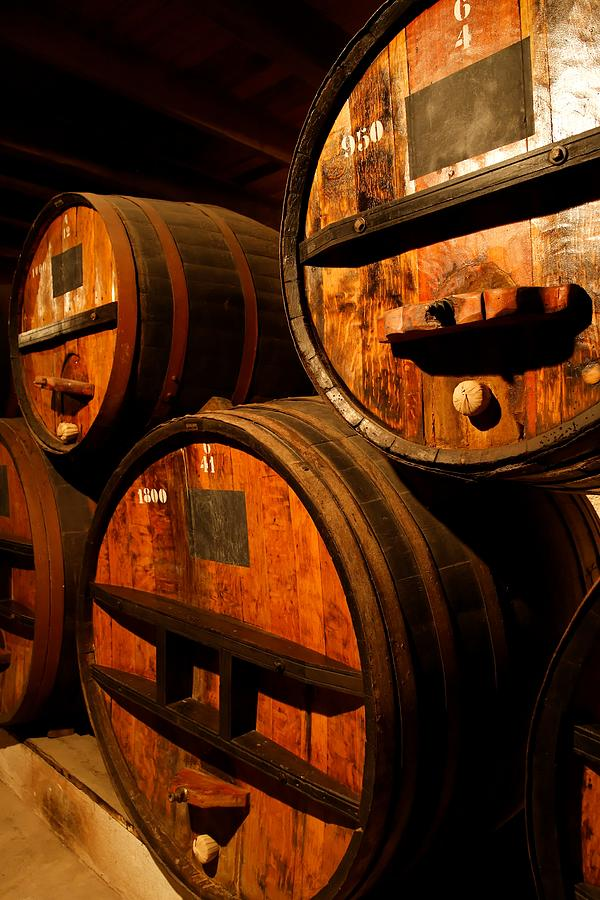 Wine Barrels Photograph by Hanis