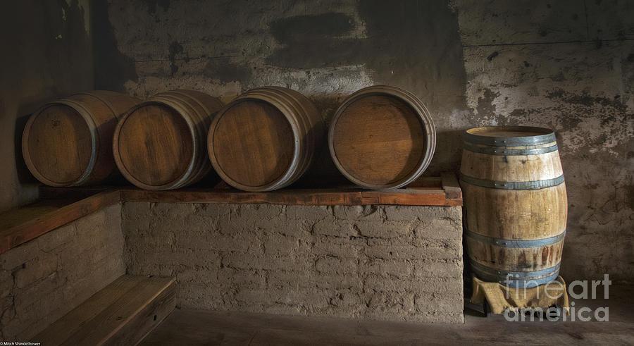 Wine Barrels by Mitch Shindelbower