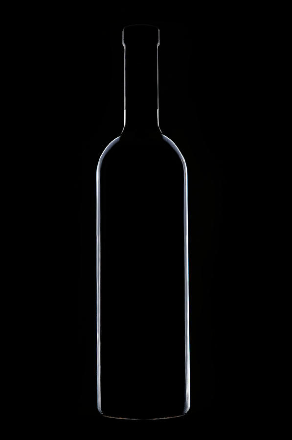 Wine Bottle Photograph by Alaincouillaud