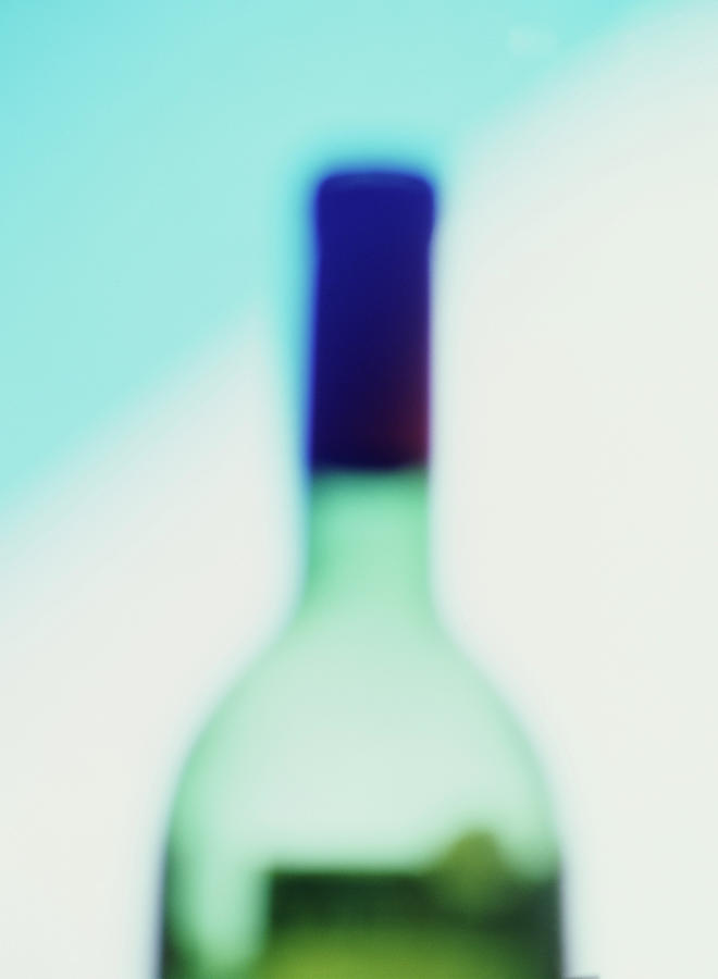 Wine Bottle Photograph by Mimi  Haddon