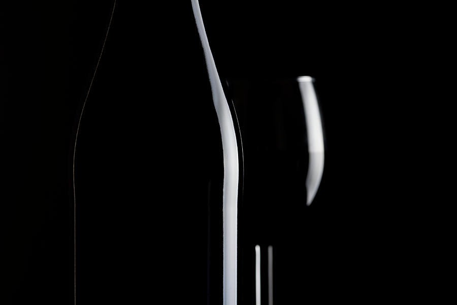 Wine Bottle Photograph by Republica