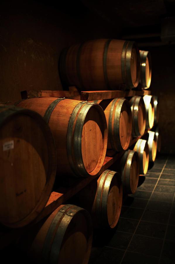 Wine Casks Photograph by Rapideye