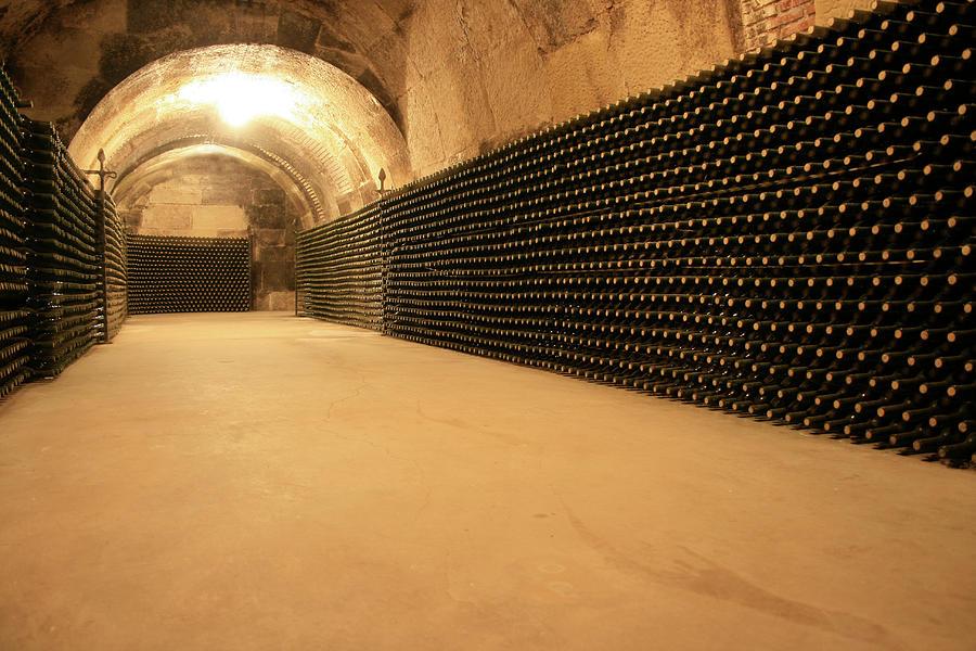 Wine Cellar Photograph by Manuelvelasco