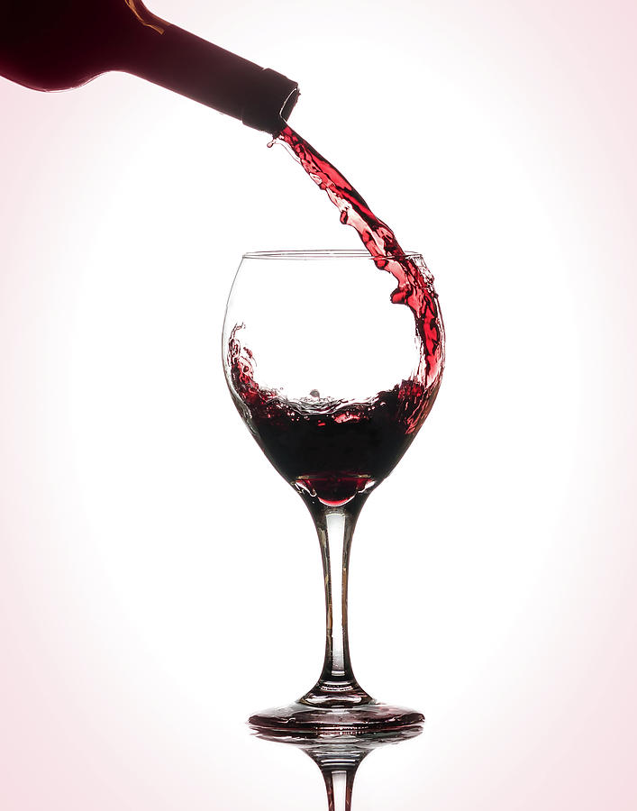 Wine Pour by Brian Caldwell