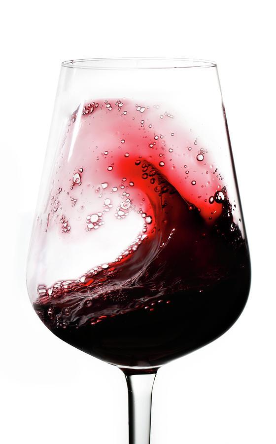 Wine Waves Photograph by Seraficus