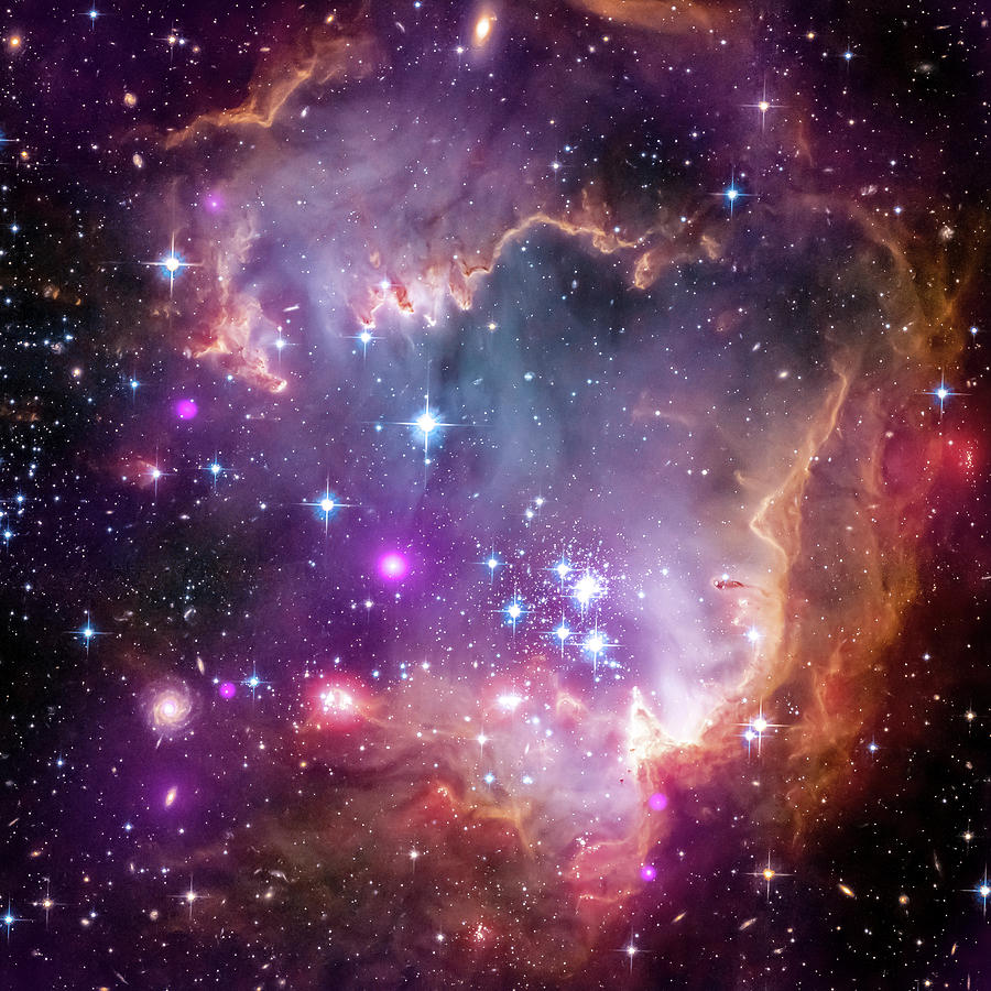 3scape Photograph - Wing Of The Small Magellanic Cloud by Adam Romanowicz