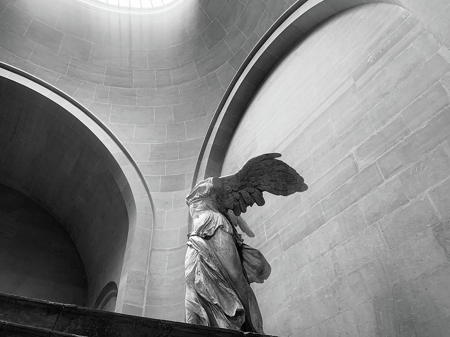 Winged Victory Or The Nike Of Samothrace Photograph