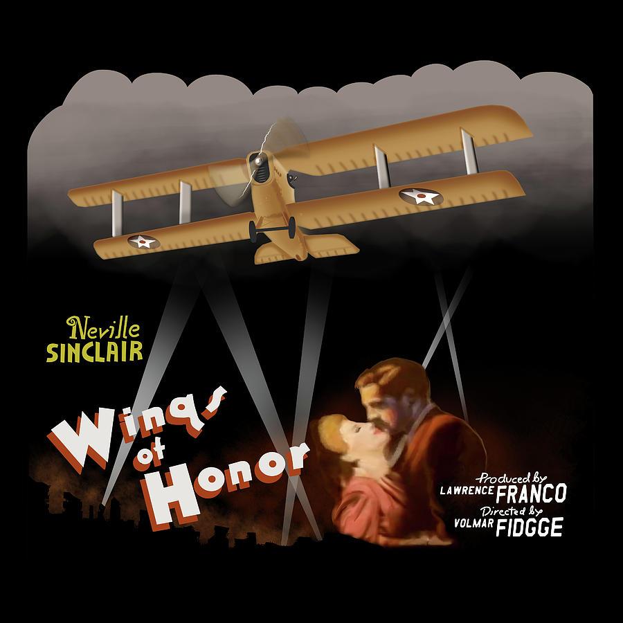 Rocketeer Digital Art - Wings of Honor Movie Poster by Hangar B Productions