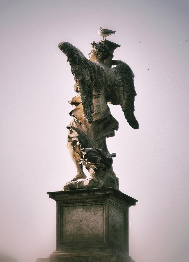 Wings - Ponte Castel Santangelo - Roma Photograph