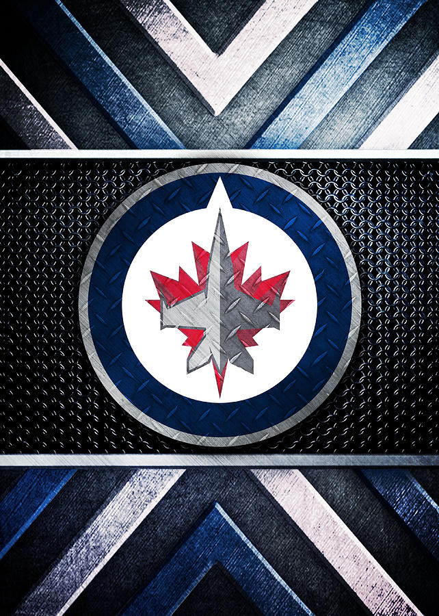 Winnipeg Jets Logo Art 2 Digital Art By William Ng