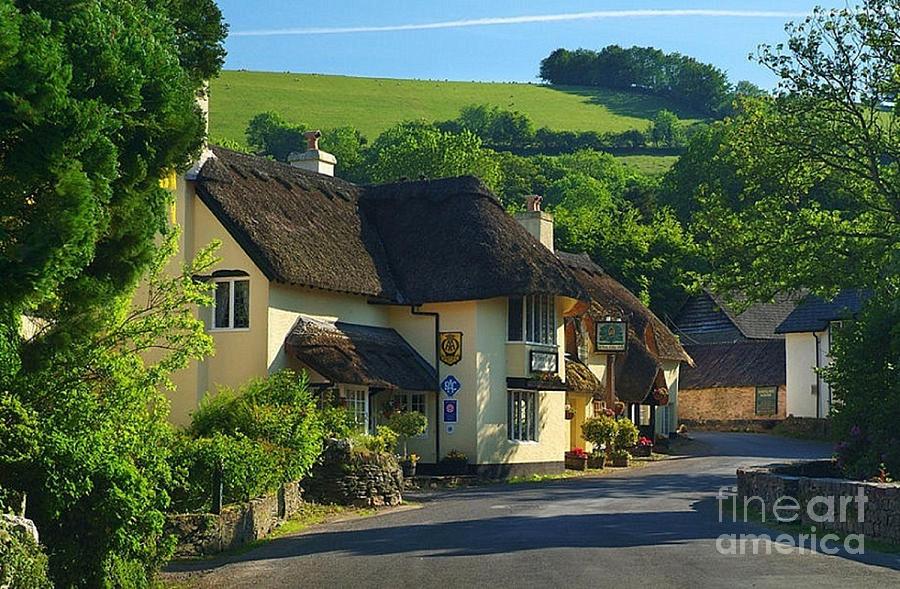 Winsford Pub England by Rod Jellison