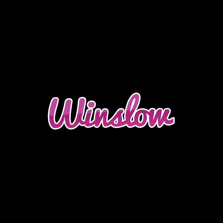 Winslow Digital Art - Winslow #winslow by Tinto Designs