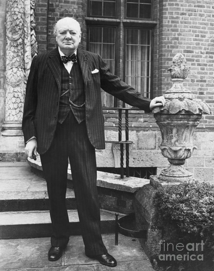 Winston Churchill Photograph by Bettmann