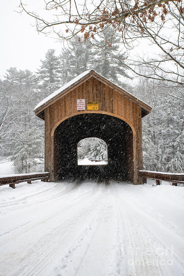 Winter at Babb's Bridge by Jesse MacDonald