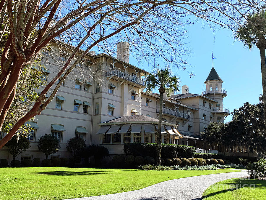 Winter at Jekyll Island Club by Katherine W Morse