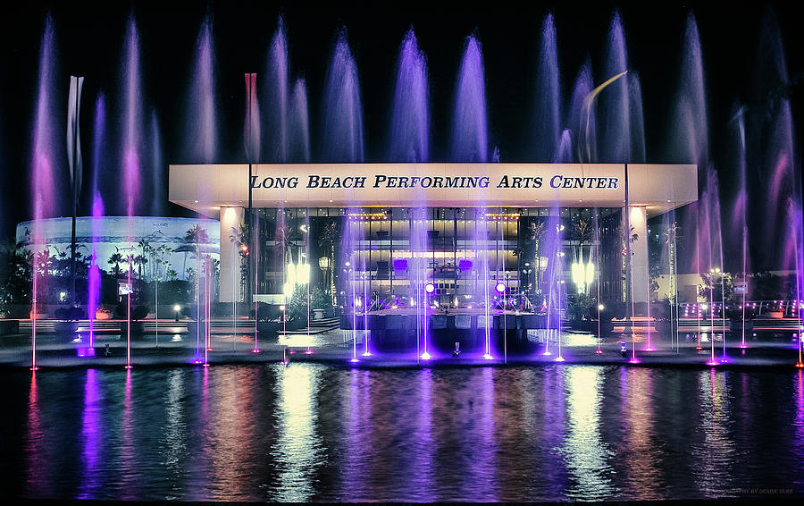 Winter At Long Beach Performing Arts by Denise Dube