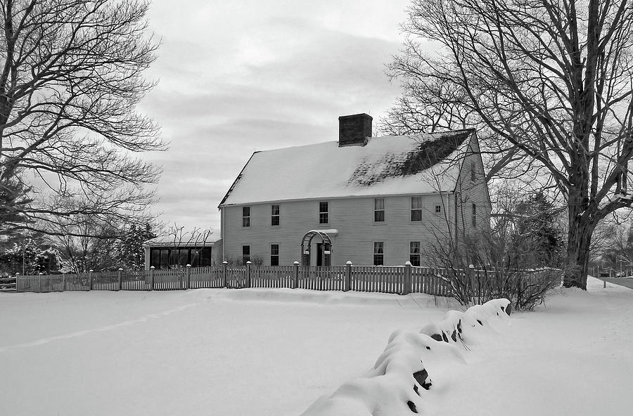Winter at Noyes House by Wayne Marshall Chase
