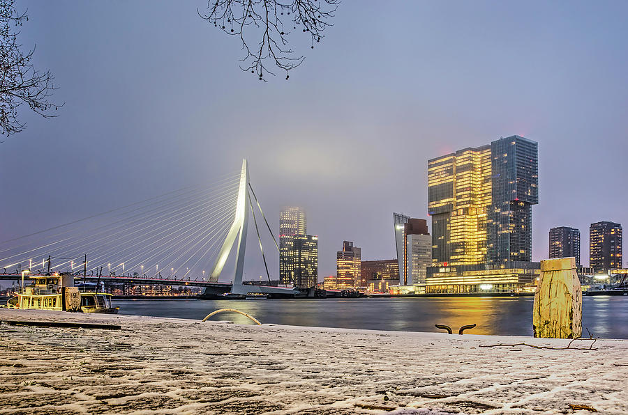 Winter at Williams Quay by Frans Blok