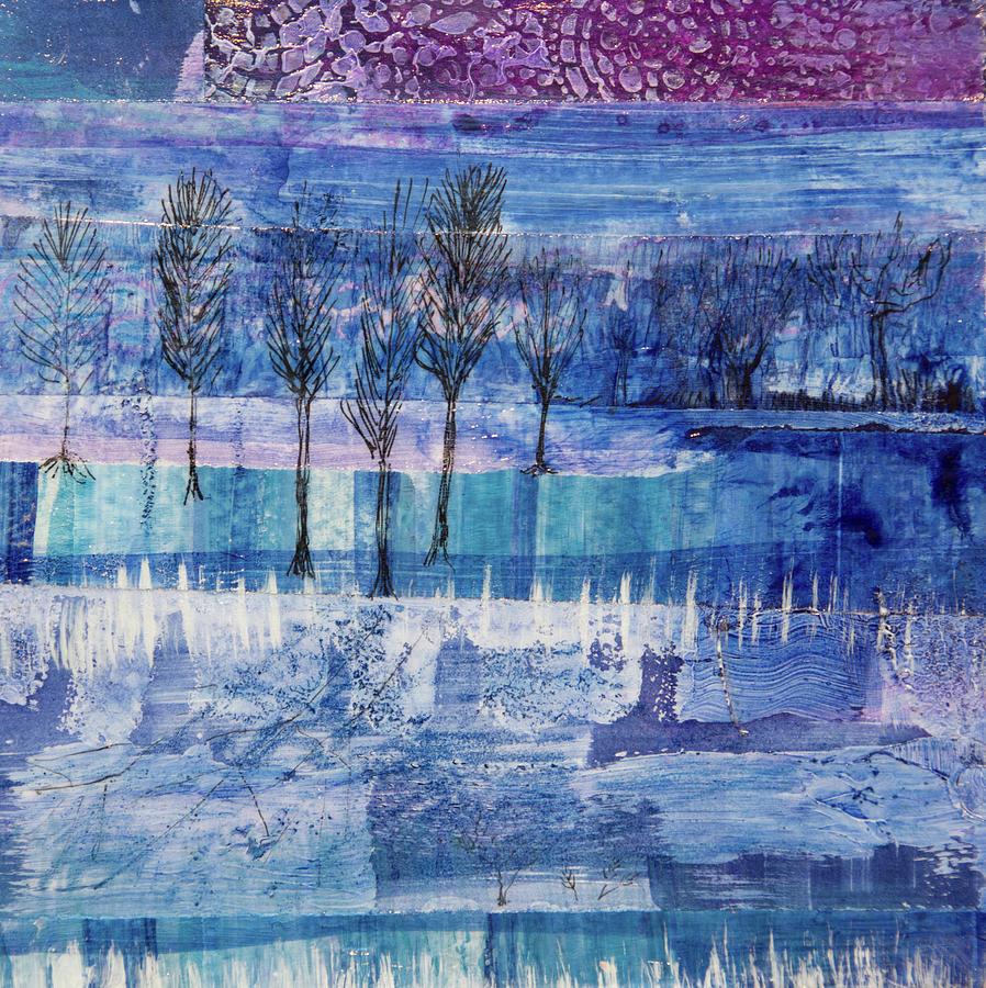 Winter Blues 1 by Paper Jewels By Julia Malakoff
