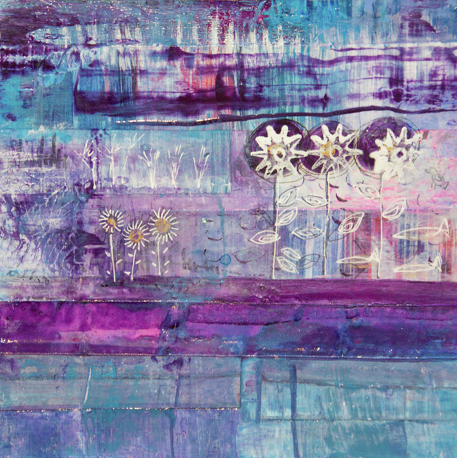 Winter Blues 2 by Paper Jewels By Julia Malakoff