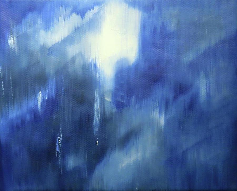 Winter Evening Moment by Johanna Hurmerinta