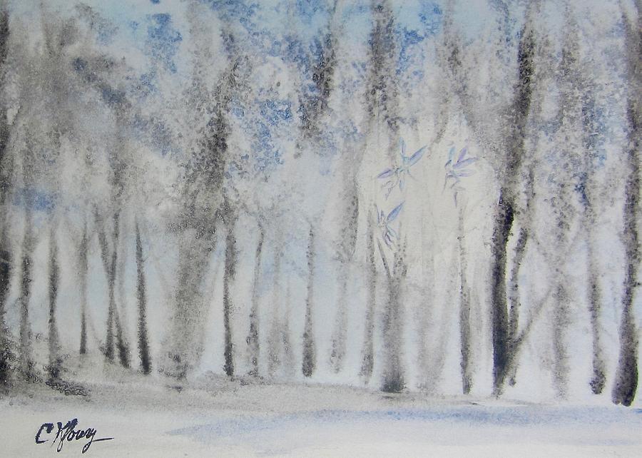 Winter Fae Light by Christine Kfoury