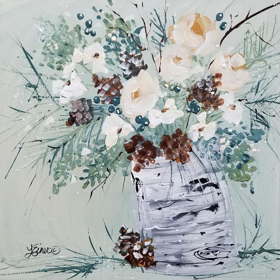 Winter Floral by Terri Einer