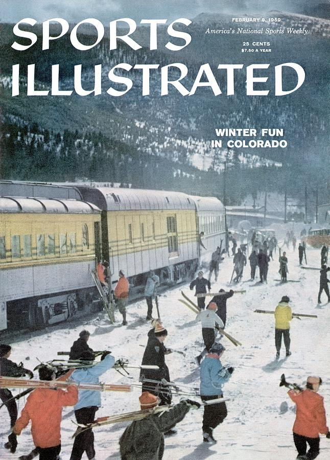 Winter Fun In Colorado Sports Illustrated Cover Photograph by Sports Illustrated