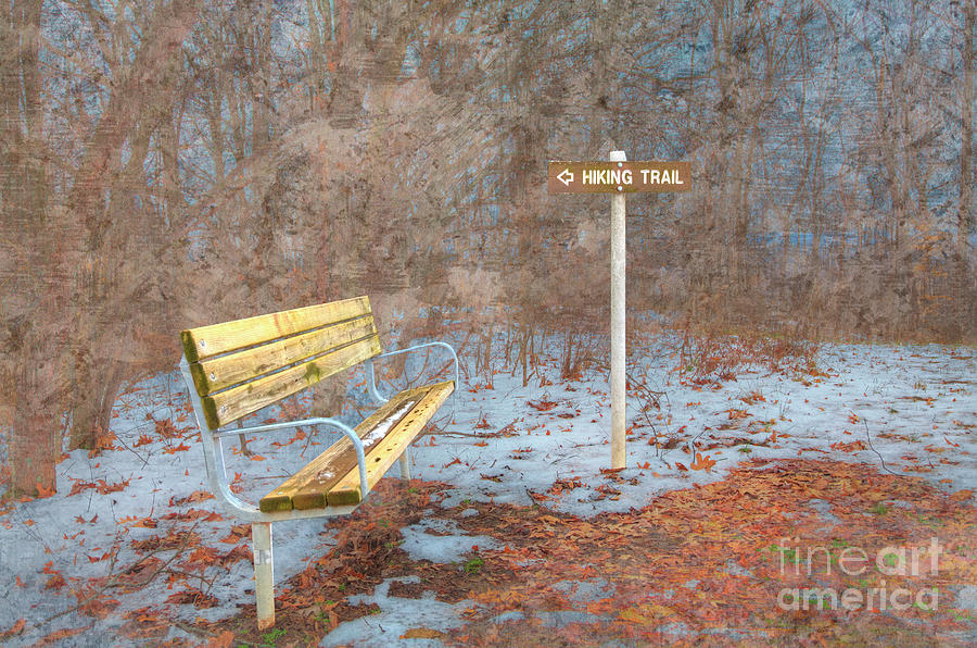 Hiking Photograph - Winter Hike  by Larry Braun