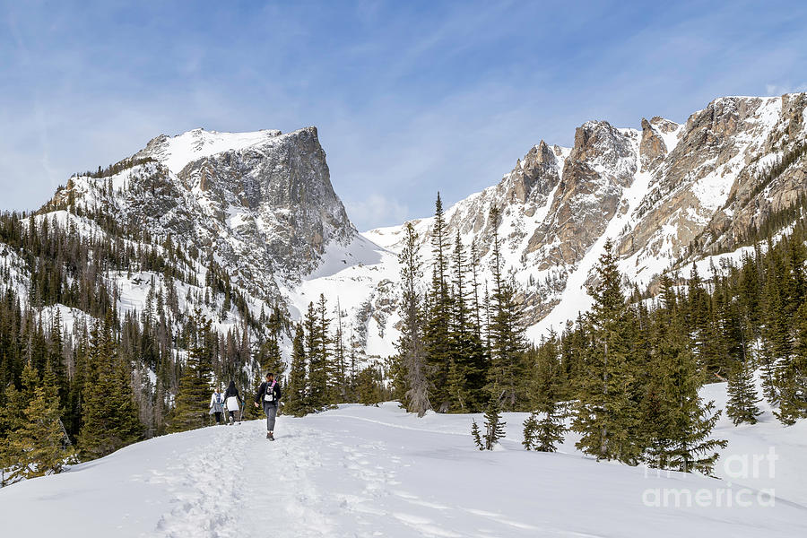 Winter Hiking in Rocky Mountain National Park by Ronda Kimbrow