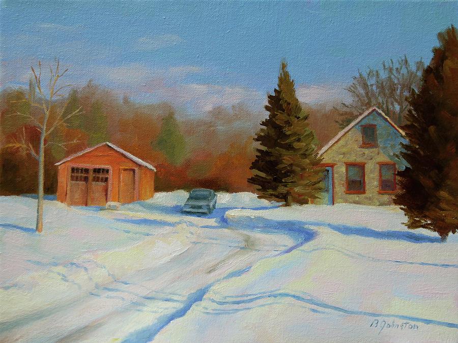 Winter Homestead by Beth Johnston