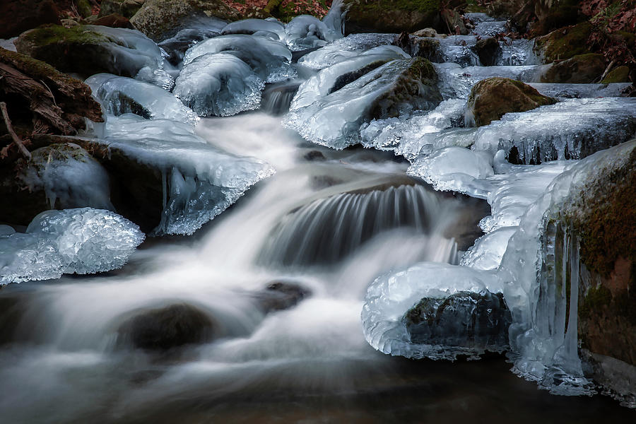 Winter Ice by Bill Wakeley