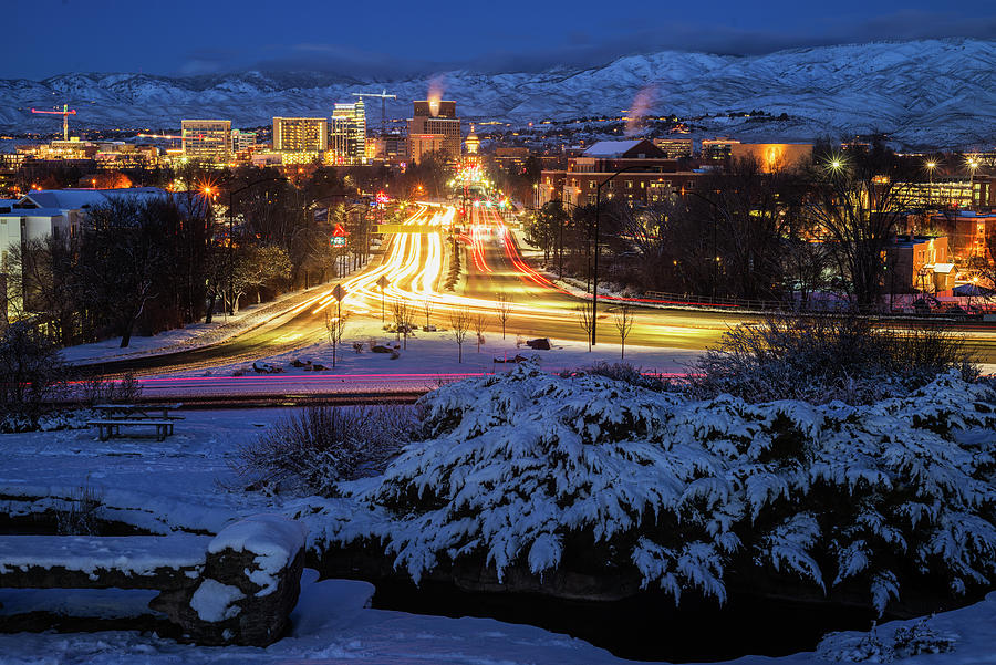Winter in Boise by Vishwanath Bhat