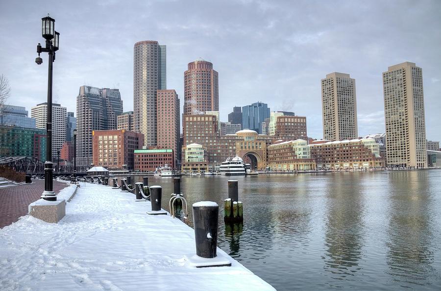 Winter In Boston Photograph by Denistangneyjr