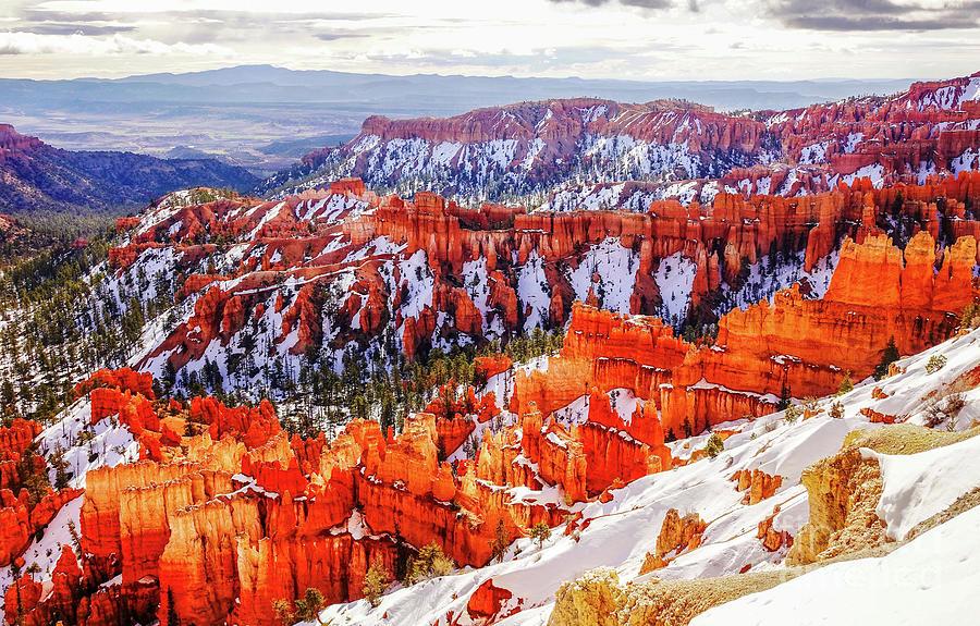 Winter in Bryce Canyon by Bob Lentz
