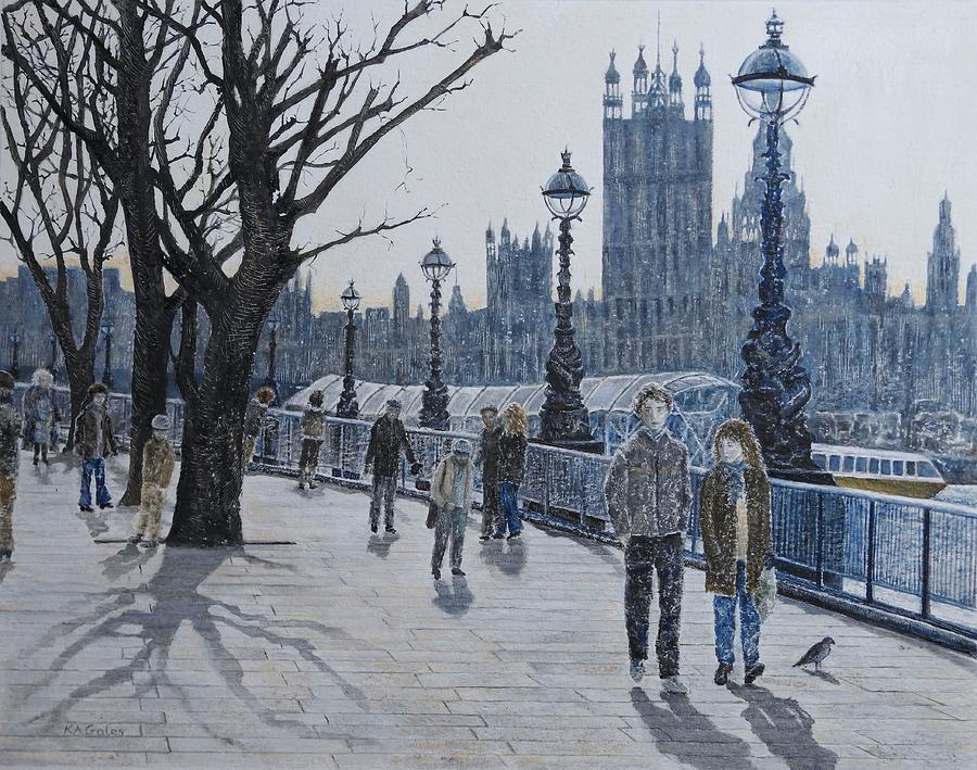 Winter in London by Kathy Gales