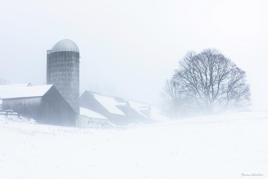 Winter in the Berkshires by T-S Photo Art